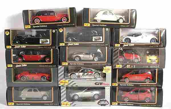Maisto 1/18th scale models inc. Special Editions