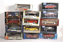 472 A Group of Polistil 118th scale models
