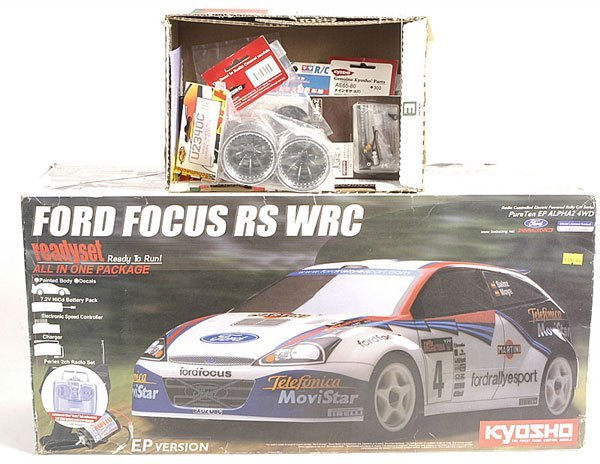 536: Kyosho Ford Focus RS Rally Car.