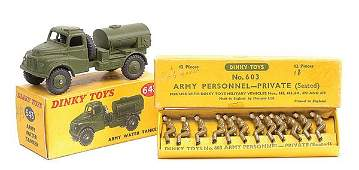 3723 Dinky No643 Army Water Tanker  Others