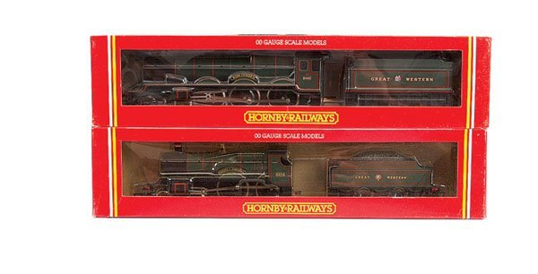 4014: Hornby - A Pair of GWR Green Steam Locos