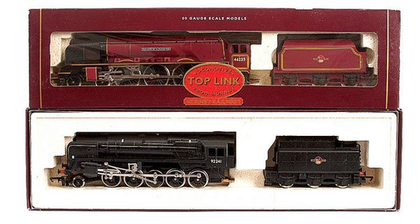 4015: Hornby - A Pair of BR Steam Locos