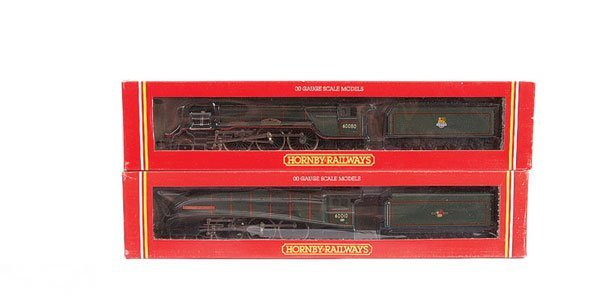 4020: Hornby - A Pair of 4-6-2 BR Green Steam Locos
