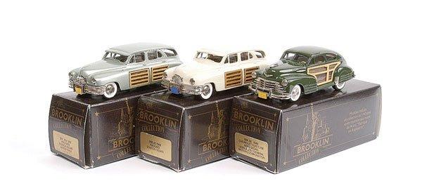 2: Brooklin No.BRK43 Packard Station Sedan & Others
