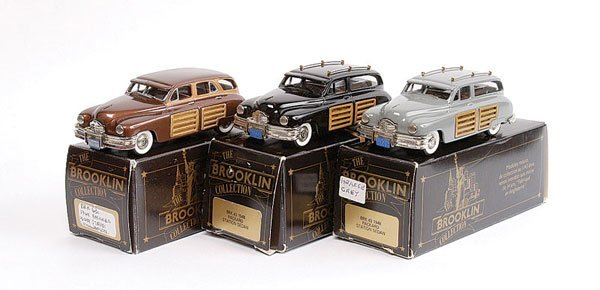 3: Brooklin No.BRK43 Packard Station Sedan & Others