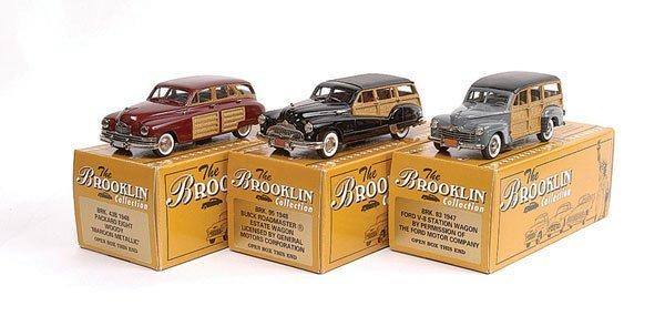 5: Brooklin No.BRK43B Packard Woody & Others