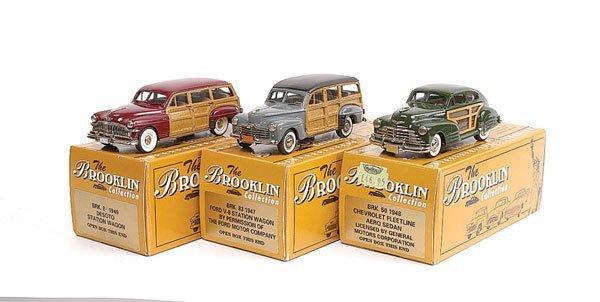 7: Brooklin No.BRK50 Chevrolet Sedan & Others