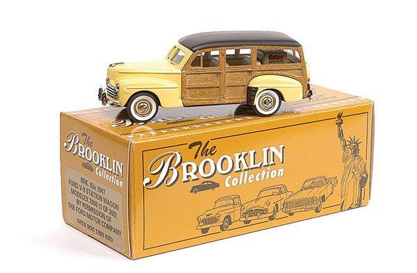 "8: Brooklin No.83X Ford Stationwagon ""Modelex 2000"""
