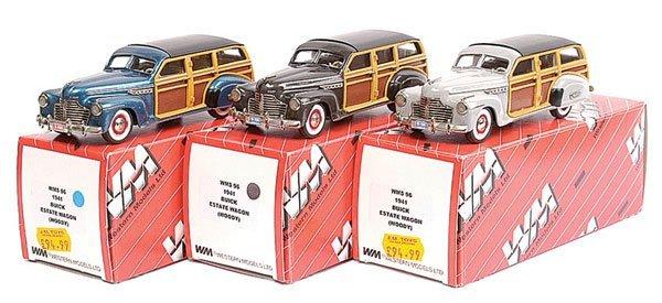 15: Western No.WMS96 Buick Estate Wagon 1941 x 3