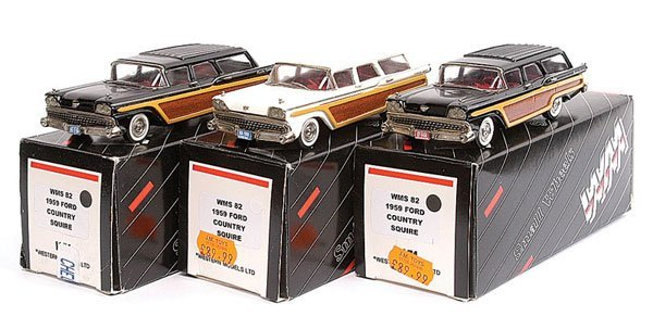 17: Western No.WMS82 Ford Country Squire x 3