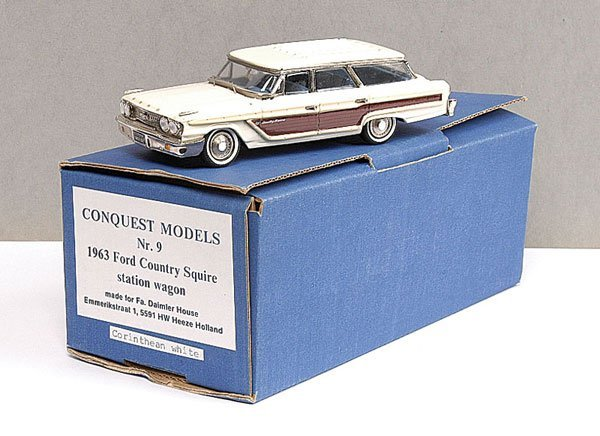 18: Conquest No.9 Ford Country Squire Station Wagon