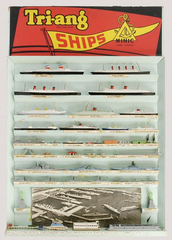 170: Triang Minic Ships Shop Display Paper Banner