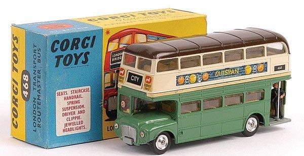 "439: Corgi No.468 Routemaster Bus ""NSW Transport"""