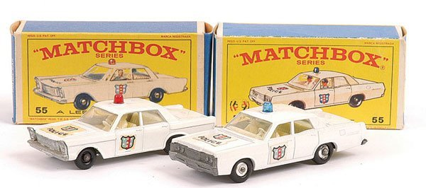 719: Matchbox - A Pair of American Police Cars