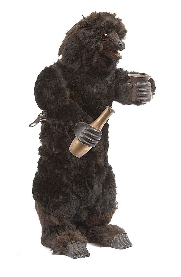 1002: Roullet et Decamps Drinking Bear Automaton