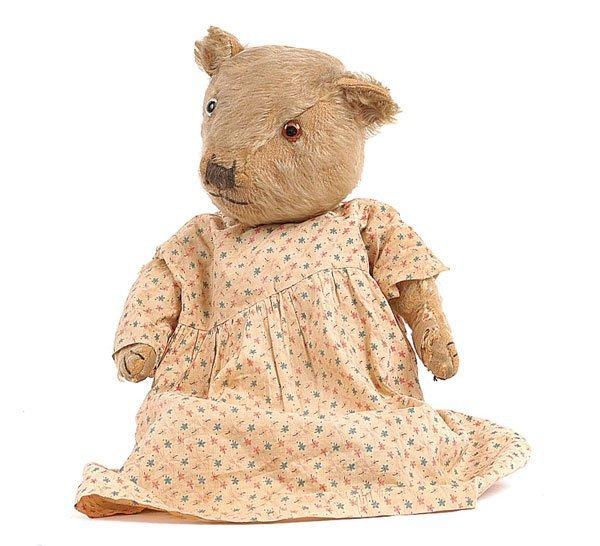 1012: Chiltern Golden Mohair Teddy Bear