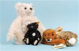 1065: Steiff Club Edition White Mohair Teddy Bear