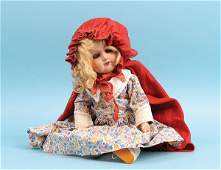 1079: Armand Marseille Painted Bisque Doll