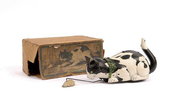 1742: Lehmann Clockwork Nina the Cat