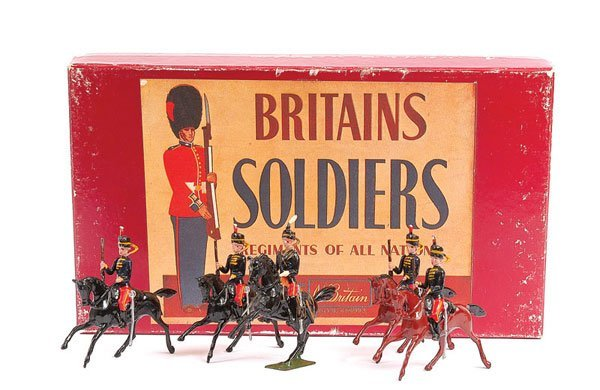 2002: Britains - Set 12 - 11th Hussars 1938-41
