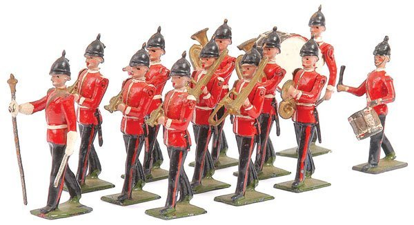 2003: Britains - Set 27 - Line Infantry Band Post War