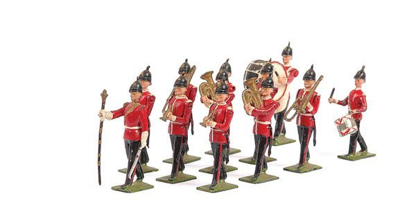 2005: Britains-Set 27 - Line Infantry Band - Post War