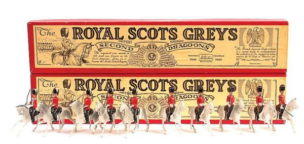 2006: Britains - Set 32 - Royal Scots Greys-Post War
