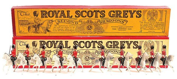 2007: Britains - Set 32 - Royal Scots Greys-Post War