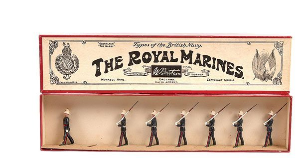 2009: Britains - From Set 35 - Royal Marines - 1938