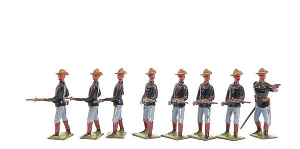 2011: Britains set 91 - U.S. Infantry [1906 version]
