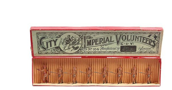 2013: Britains Set 104-City Imperial Volunteers-1925