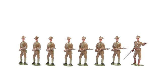 2014: Britains From Set 104-City Imperial Vol's-1925