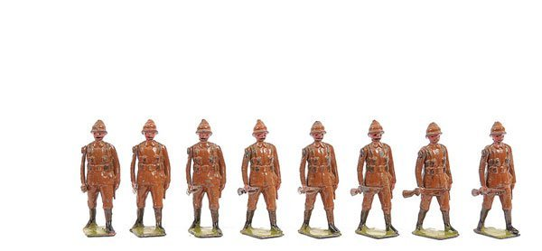 2016: Britains - Set 110 - Devonshire Regiment-1916