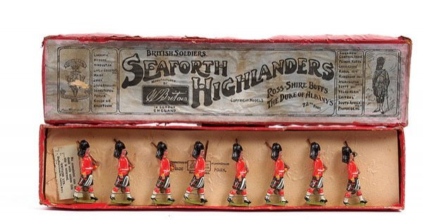 2017: Britains-Set 112-Seaforth Highlanders-1914