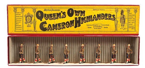 2018: Britains - Set 114 - Cameron Highlanders - 1935