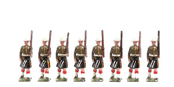 2019: Britains - Set 114 - Cameron Highlanders - 1935