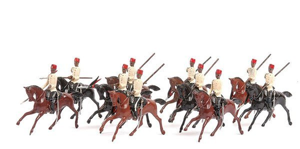2021: Britains-Set 115 [2 x sets] - Egyptian Cavalry