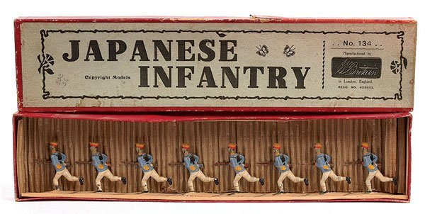 2022: Britains set 134 - Japanese Infantry-1925