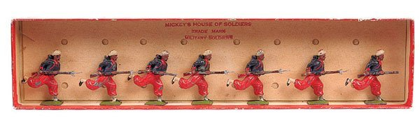 2024: Britains - From Set 142 - French Army - Zouaves