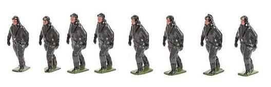 2691 Britains From Set 1895  PilotsGerman Luftwaffe