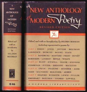 New Anthology Of Modern Poetry (A)