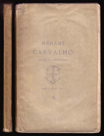 Mme. Carvalho Notes Et Souvenirs