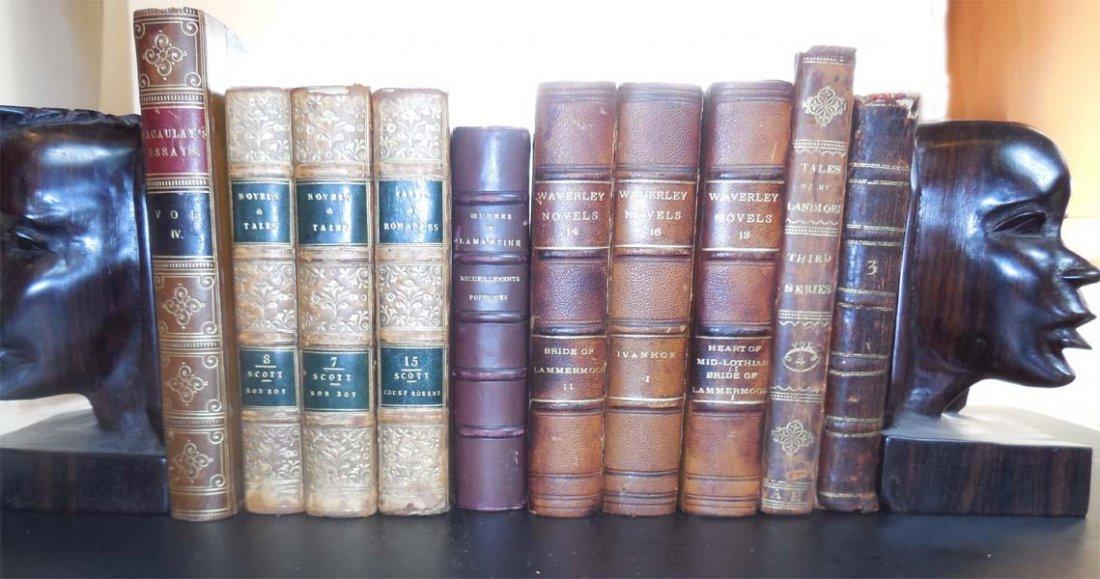 10 Attractive leather books