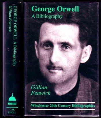 1998,Fenwick, Gillian,George Orwell A Bibliography