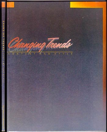 1983,Smith,Robert,Changing Trends Content And Style