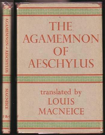 Aeschylus,The Agamemnon Of Aeschylus