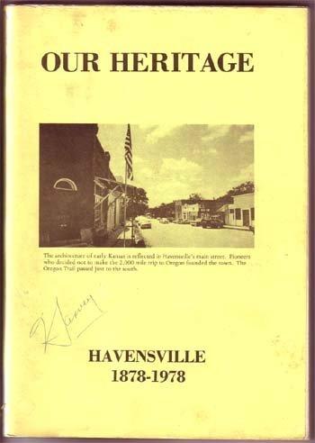 1978,Ellis, Leo,Our Heritage Havensville 1878-1978