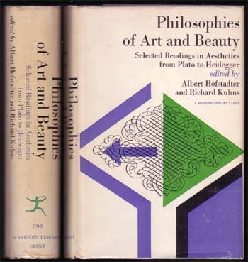1965,Philosophies Of Art and Beauty