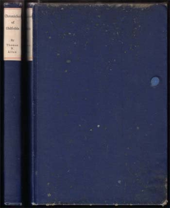 1909 Chronicles Of Oldfields