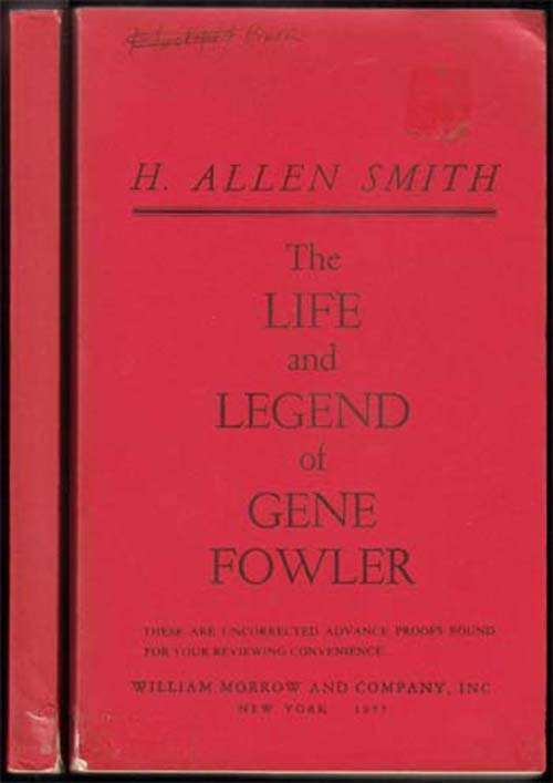 197 Life And Legend Of Gene Fowler